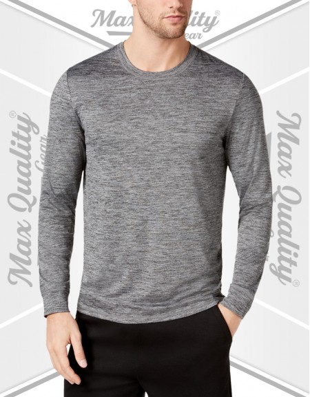 MEN'S FITNESS BODY ROUND NECK FULL SLEEVE T-SHIRT