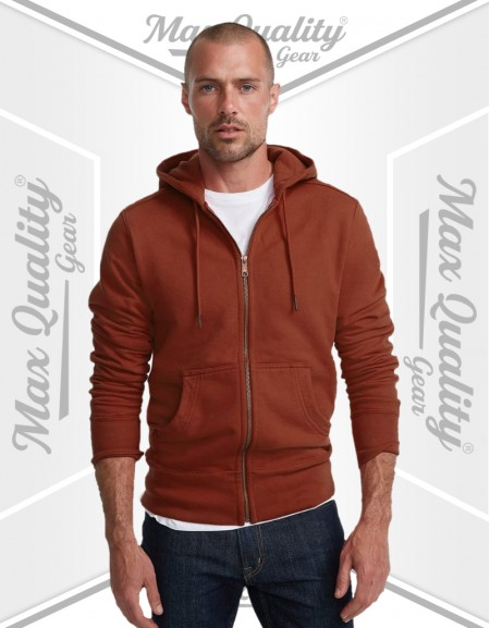 MEN's DRY STRETCH SWEAT FULL-ZIP HOODIE