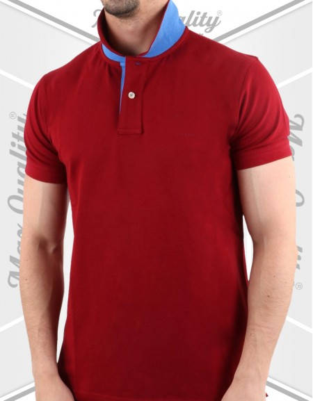 MAX MEN'S RED POLO SHIRT