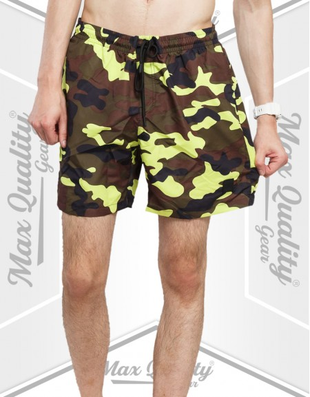MEN'S CAMO DESIGN SWIM SHORT
