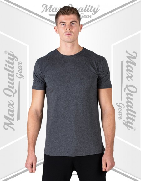 UNIQUE U CREW NECK SHORT SLEEVE T-SHIRT