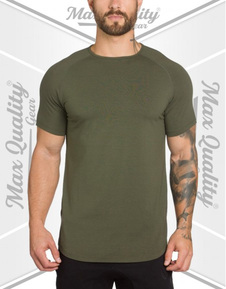 MAX MEN'S SUMMER KHAKI T-SHIRT