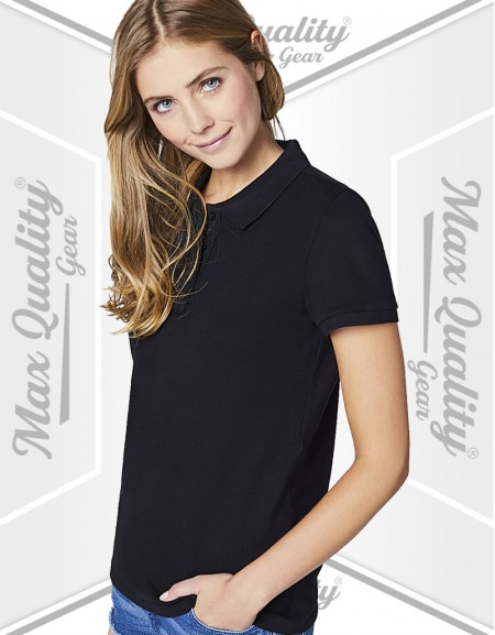 WOMEN PERFORMANCE PIQUE POLO SHIRT
