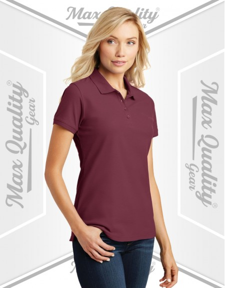 WOMEN FITNESS GOLF POLO SHIRT