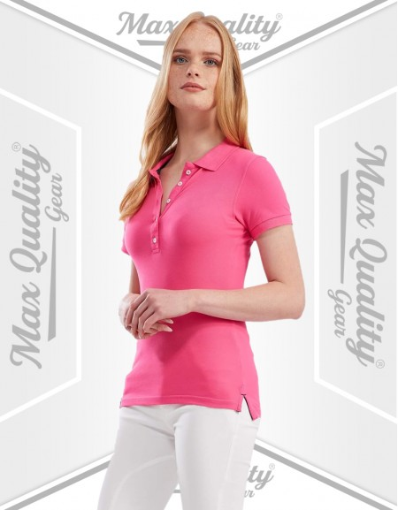 MAX SWORD LADIES POLO SHIRT