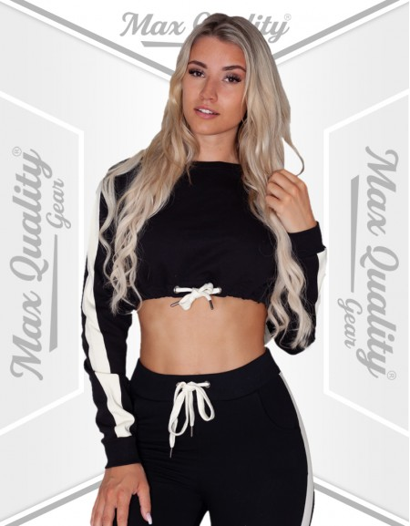 HIGH QUALITY TRAINING LADIES CROP TRACKSUIT