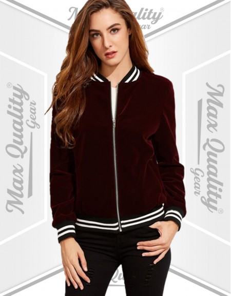 PRO-TECH LADIES VARSITY JACKET