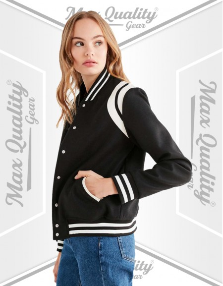 CLASSIC PRO LADIES VARSITY JACKET
