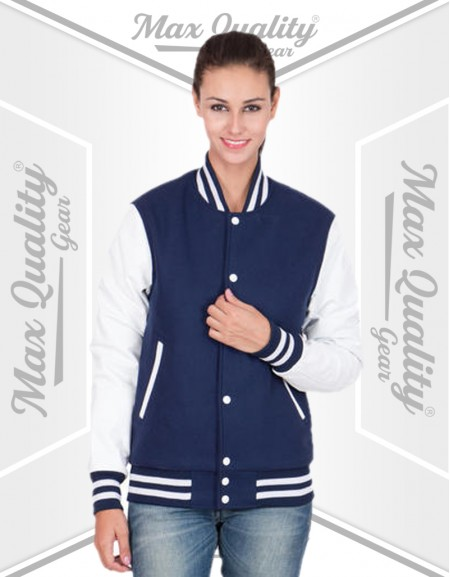 SUPERNATURAL CASTIEL WOMEN VARSITY JACKET