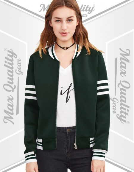 CUSTOM WOMEN VARSITY JACKET