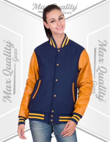 WOMEN BASEBALL VARSITY JACKET